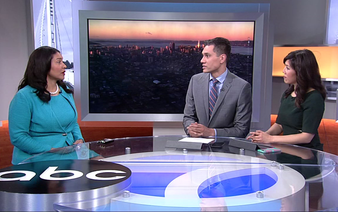San Francisco Mayor London Breed speaks to ABC7 about housing crisis, Beyonce and more