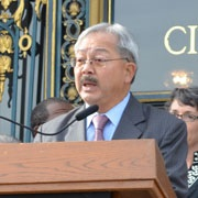Mayor Lee Issues Executive Directive on Bicycle & Pedestrian Safety