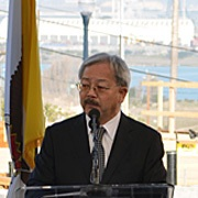 Mayor Lee Announces New Partnership with MAC AIDS Fund in San Francisco's Aim to Be First City to Get to Zero in HIV/AIDS Battle
