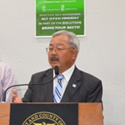 Mayor Lee Announces Vision Zero Projects Completed Ahead of Schedule