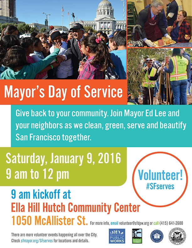 Mayors Day of Service Flyer