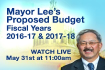 Mayor Budget 2016 image