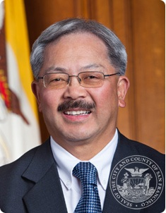 Mayor Edwin Lee bio image