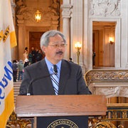 Mayor Lee's Statement On Passing Of Sing Tao Daily Columnist Te Yung Gao