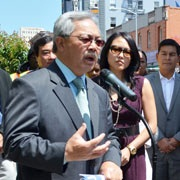 Mayor Lee Highlights City Response to Ocean Avenue Fire Affecting Small Businesses