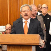 Mayor Lee's Statement on Consensus Business Tax Reform Approval for November Ballot
