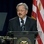 Mayor Lee speaking at the 2013 State of the City Address