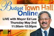Budget Town Hall - Get the latest information