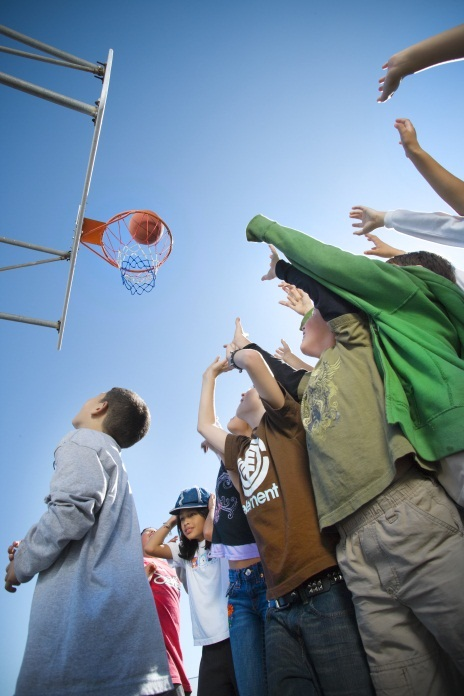 Basketball hoop - Shared Schoolyards