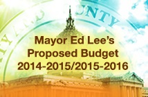 Mayor Ed Lee's Proposed Budget