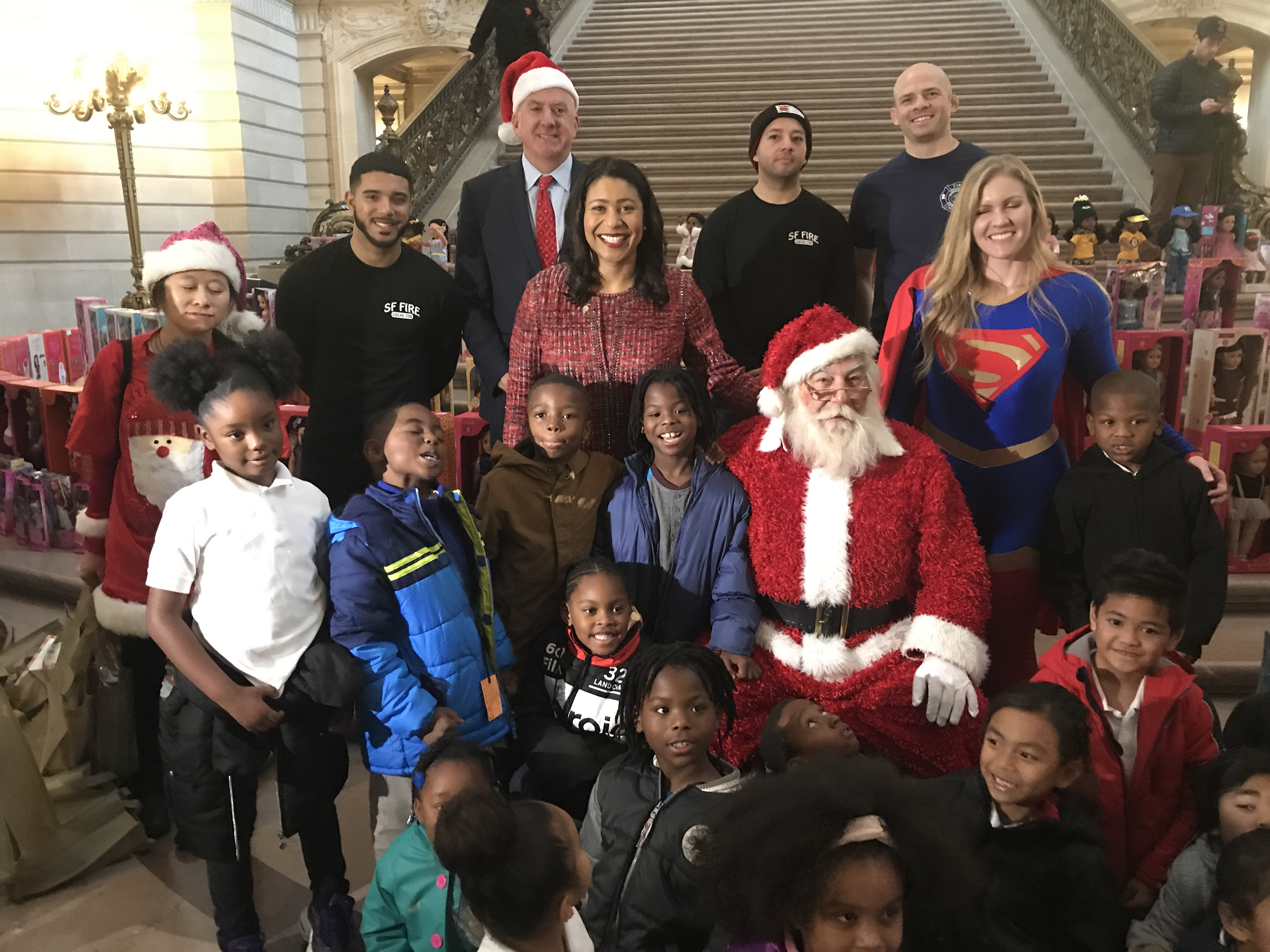 Mayor London Breed at the Annual Book & Toy Festival