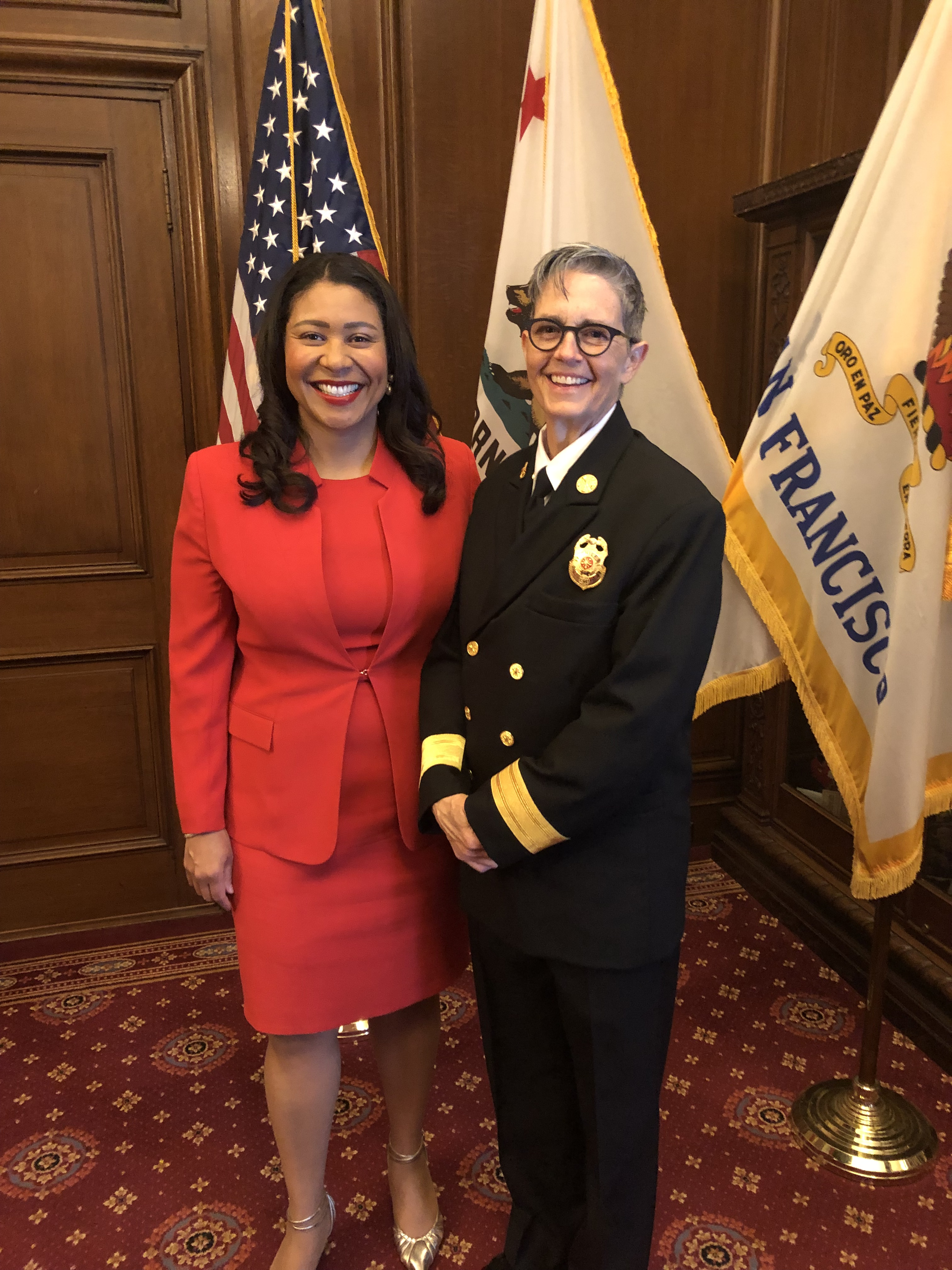 Fire Chief Swearing In