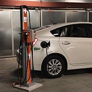 San Francisco electric vehicle charging station