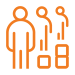 Icon for a diverse, equitable and inclusive city