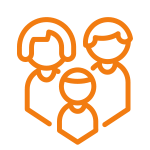Icon for residents and families that thrive