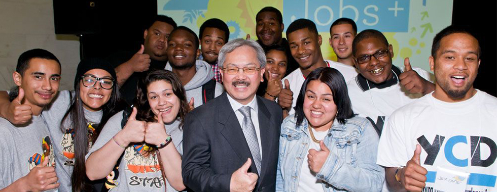 Mayor Lee Launches Youth Jobs + Initiative to Create Jobs for San Francisco Youth