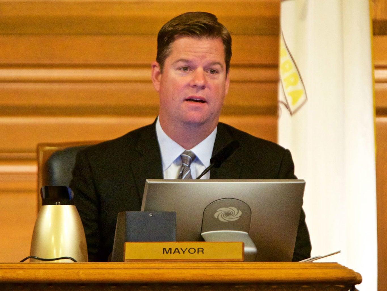 Mayor Farrell Driverlesss cars MEF